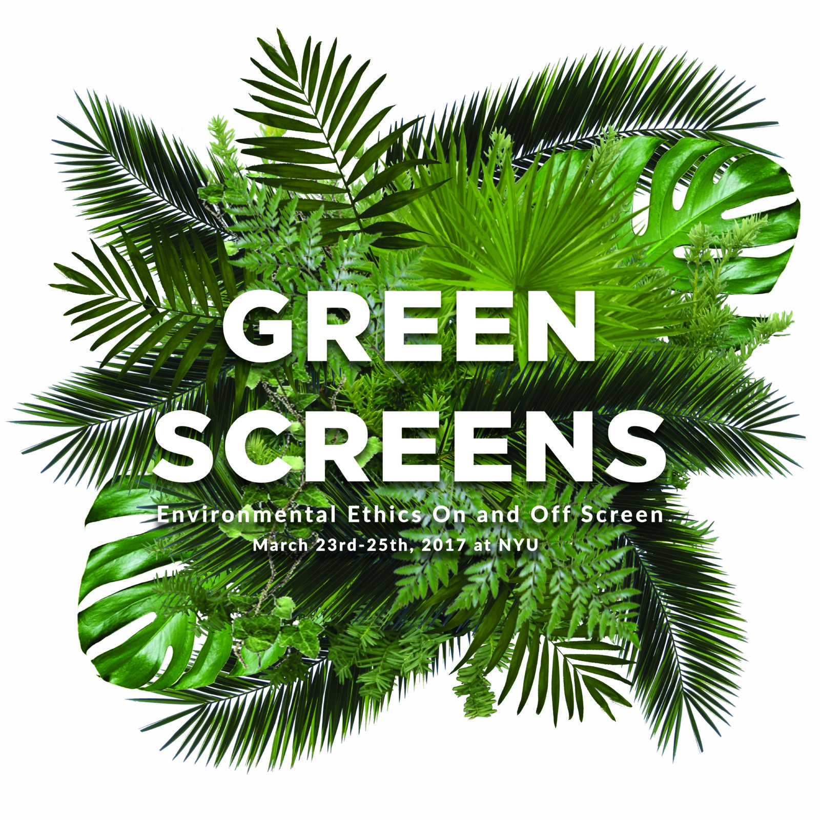 Green Screens Environmental festival NYU