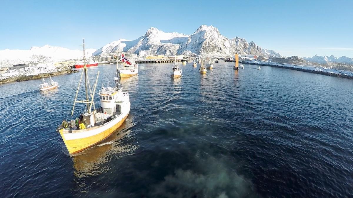 Trawler in Norway, Atlantic goes International