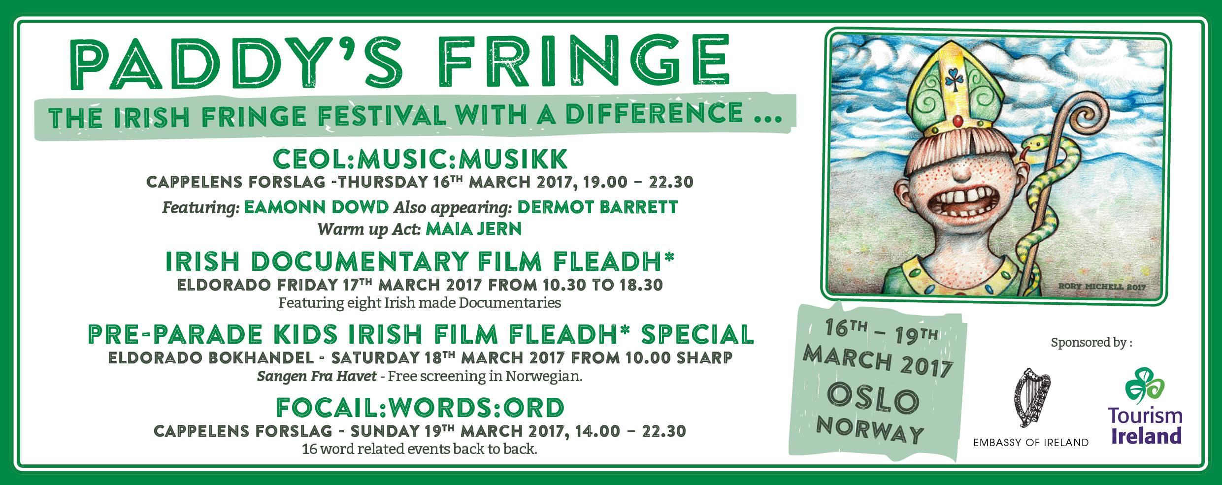 Paddy's Fringe Festival