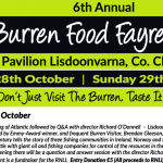 Richard O'Donnell opens the Burren Food Fayre, Shining a Light on Wild Atlantic Food